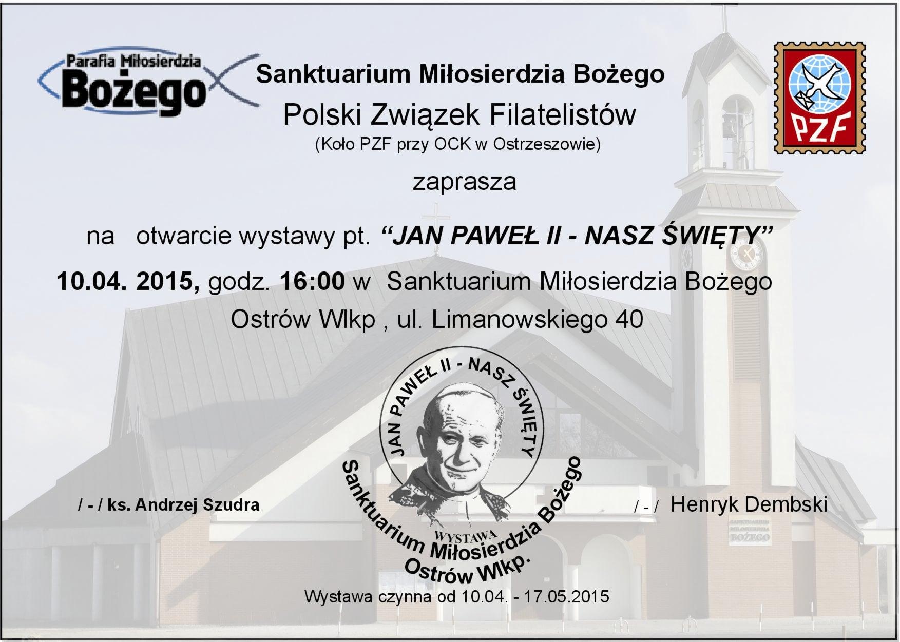 Zaproszenie 2015
